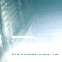 various artists — Live From the Devil's Triangle, Volume 2 (front cover)