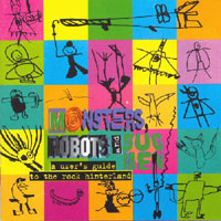 various artists — Monsters, Robots and Bug Men (front cover)