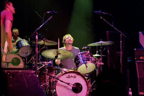 All praise Ed, king of the drums